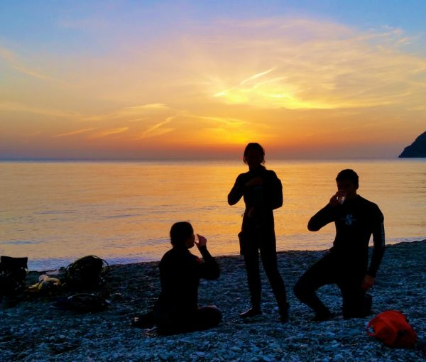 PADI Night Diver Specialty course in Spain