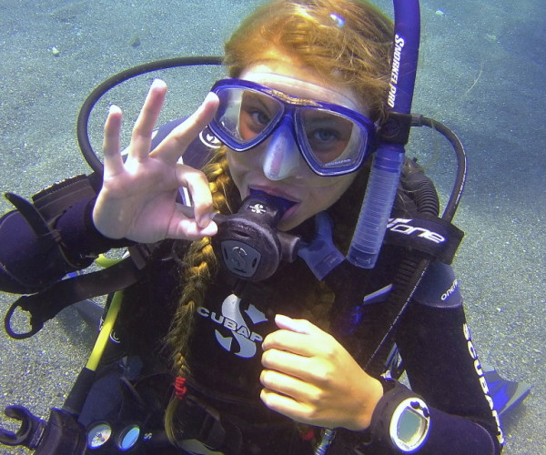 PADI Open Water Diver course in Spain