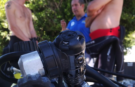 PADI Tec 45 technical diving course in Spain