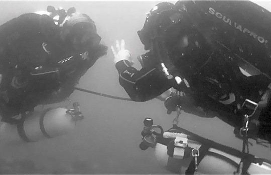PADI Tec 50 technical diving course in Spain