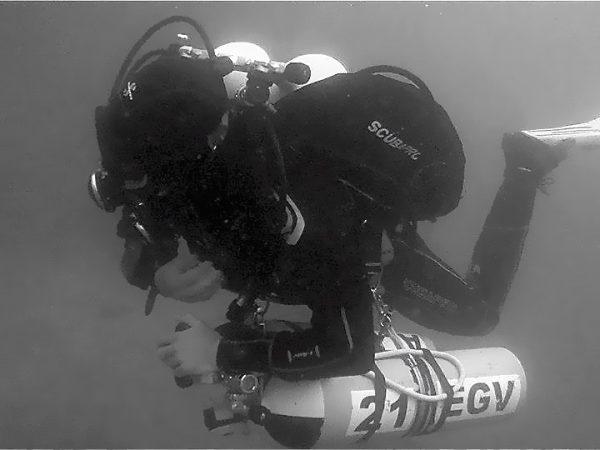 Tec diver makes a switch