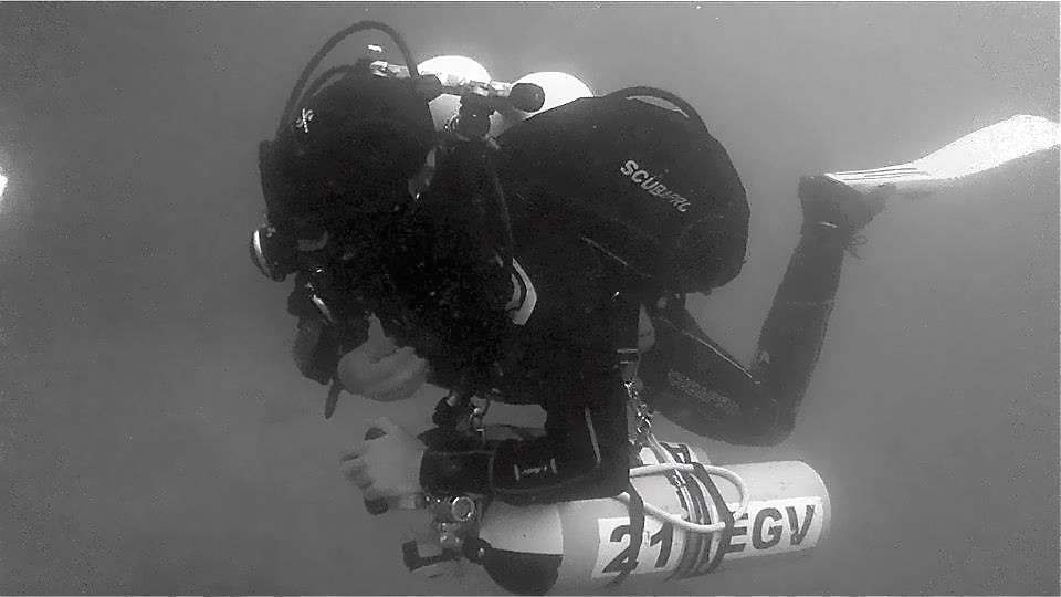 PADI Tec 50 Diver