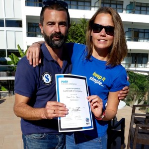 Another successful PADI Instructor