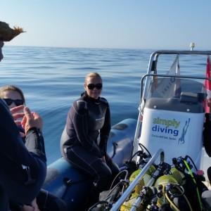 Divemaster's briefing, Marbella