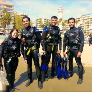 PADI Discover Scuba Divers in Marbella
