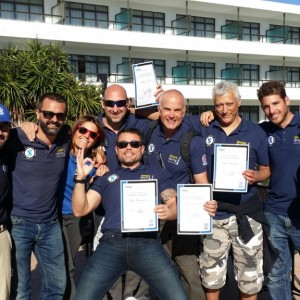 PADI Examiner and the Simply Diving IDC candidates